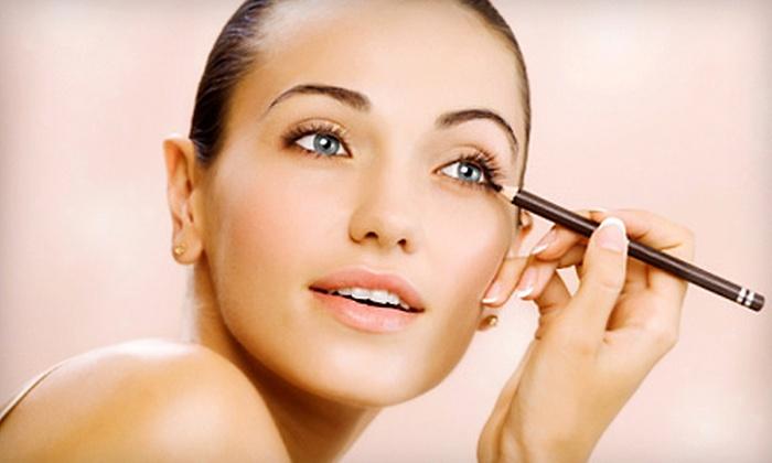 SHARA Makeup Studio - Dominique Salon: 60- or 90-Minute Private Makeup Lesson at Shara Makeup Studio (Up to 56% Off)