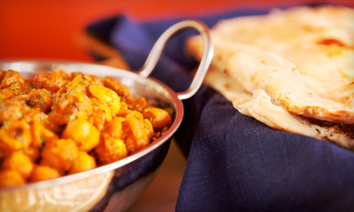 Indian Aroma - Rockaway: Indian Buffet for Two or Four or Dinner for Two or Four at Indian Aroma (Up to 61% off)