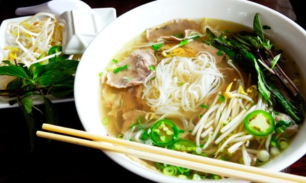 $15 for $30 Worth of Thai Food at Pom's Thai Taste Restaurant and Noodle House