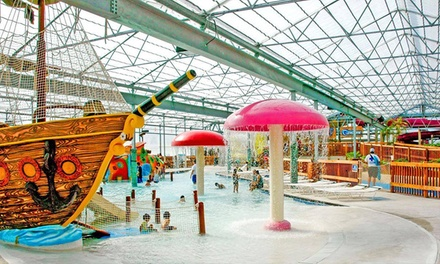 Stay at Schlitterbahn Waterpark & Resort in South Padre Island, TX. Dates into March 2019.