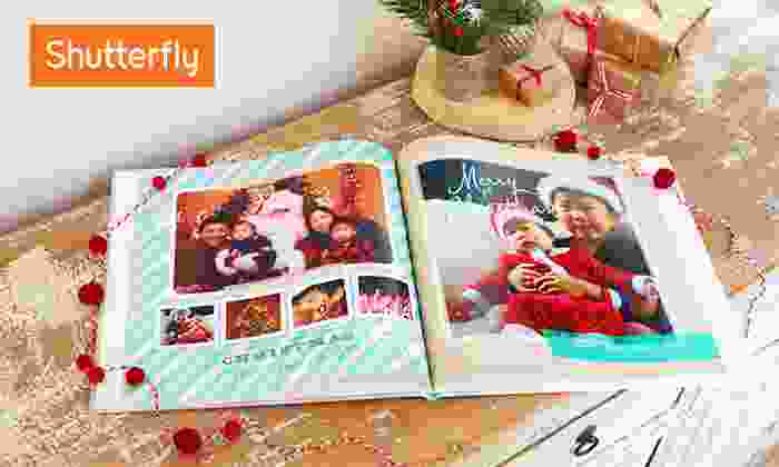 Shutterfly: 8x8 or 8x11 Custom Photo Book from Shutterfly (Up to 66% Off)