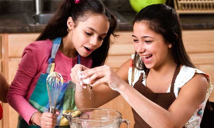 Oh My Girls! - Syosset: Baking or Dinner-Cooking Class for One or Two at Oh My Girls! (Up to 58% Off)