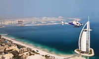 Helicopter Tour Across Dubai for One or Five with Heli Dubai