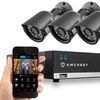 Amcrest 960H 4-Channel 500GB DVR Security Camera System