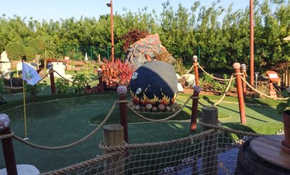 image for 18-Hole Adventure Mini Golf Session for Up to Four at Rascal Bay Margate