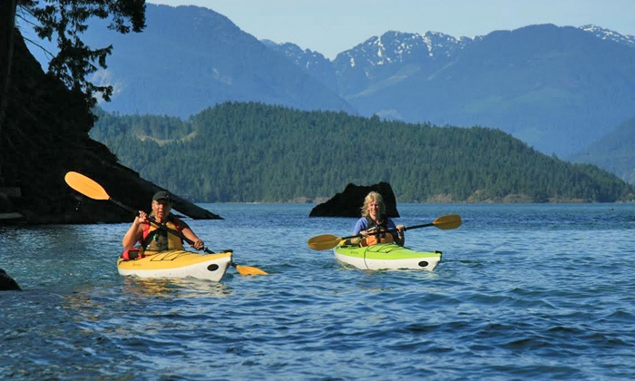 Harrison Eco Tours - Harrison Hot Springs: Two-Hour Guided Kayak Tour for One, Two, or Four, or Private Tour for Eight (Up to 63% Off)
