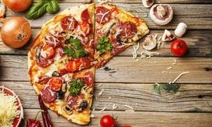 Stara Venezia - Pizza i Pasta: Pizza gigant o średnicy 45 cm za 19,90 zł i więcej opcji w restauracji Stara Venezia Pizza i Pasta (do -48%)