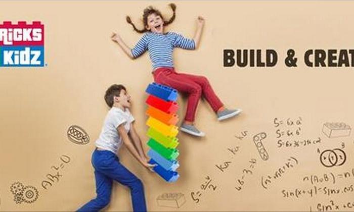 Bricks 4 Kidz- Ashburn - Ashburn Center: An Open-Play Pass at Bricks4Kidz-Northern Virginia (44% Off)