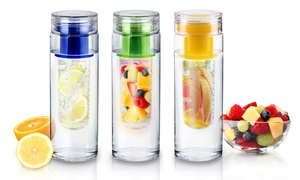 InFuzeH20 Fruit-Infuser Water Bottles (1- or 2-Pack) at InFuzeH20 Fruit-Infuser Water Bottles, plus 6.0% Cash Back from Ebates.