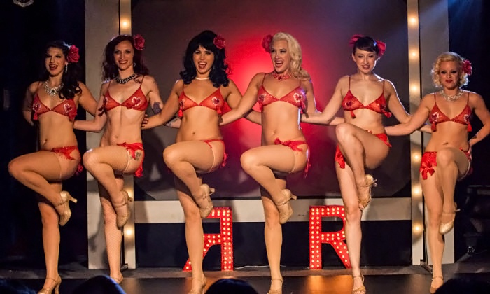 The Ruby Revue Burlesque Show - House of Blues Dallas: The Ruby Revue Burlesque Show at House of Blues Dallas on Friday, July 25, at 9 p.m. or 11:30 p.m. (Up to 49% Off)