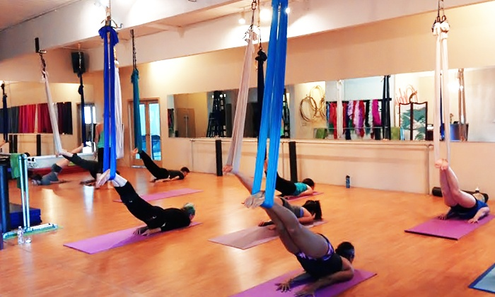 Ophidia Dance - Depot Bench: 5 or 10 Pole and Aerial-Yoga Classes or Specialty Classes at Ophidia Dance (Up to 51% Off)