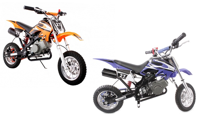 49 cc mini motocross motorrad groupon. Black Bedroom Furniture Sets. Home Design Ideas