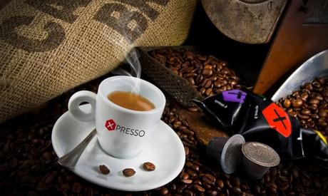 Fino a 400 capsule Xpresso compatibili Nespresso disponibili in 5 miscele