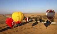 Vuelo en globo para 1 o 2 personas y almuerzo campero con cava desde 139 € en AirGlobo Murcia
