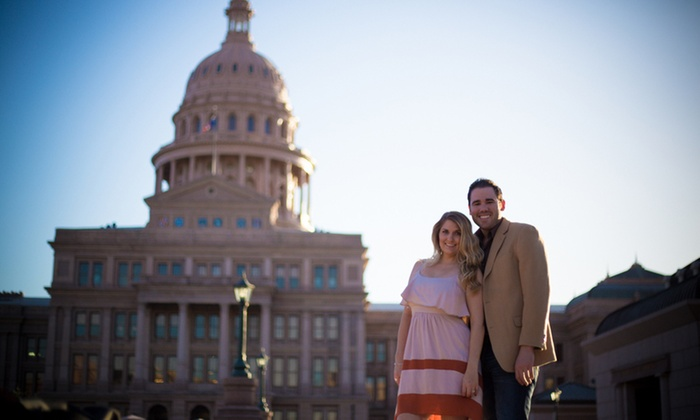 Justin Brownwell Photography - San Antonio: $120 for On-Location Two-Hour Engagement Photo Session from Justin Brownwell Photography ($300 Value)