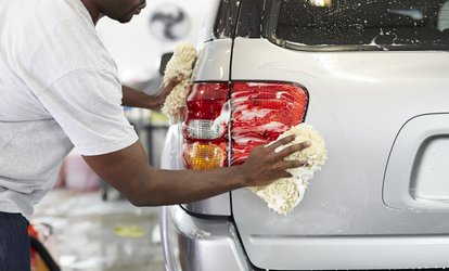 image for Car Hand Wash for Car or SUV at Magic Touch Auto Detailing (Up to 56% Off). Five Options Available.