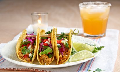 image for Mexican Food and Drinks at Jocy's Mexican Restaurant (Up to 45% Off). Three Options Available.