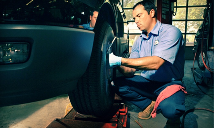 Atlanta Luxury Motors - Suwanee-Duluth: $59 for a Synthetic Oil Change Package with Tire Rotation and Car Wash at Atlanta Luxury Motors ($149.99 Value)