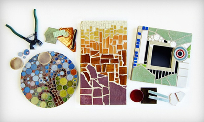 Mercury Mosaics - Northeast Park: Beginners' Class for One or Two at Mercury Mosaics (56% Off)