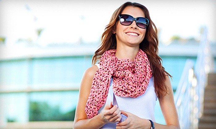 Scarves.com: Fashion Scarves and Pashminas from Scarves.com (63% Off). Two Options Available.