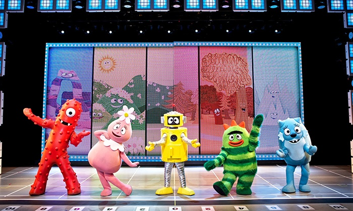 """Yo Gabba Gabba! Live! Music is Awesome!"" Exclusive Presale at Tower Theater on October 29 at 3 p.m. or 6 p.m."