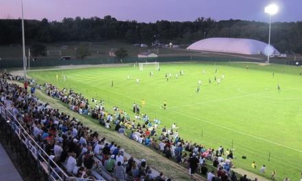 Jr. Elite Overnight or Combo Overnight & Day Soccer Camps at Oakland University Soccer Complex (Up to 46% Off)