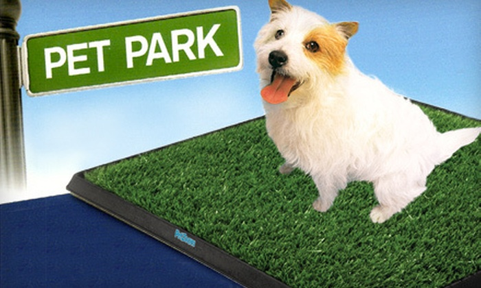PetZoom Indoor Dog Relief System: $25 for a PetZoom Pet Park, an Indoor Dog Relief System ($49.99 List Price)