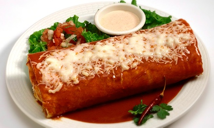 $11 for $20 Worth of Mexican Food at El Rosal Restaurant Lodi