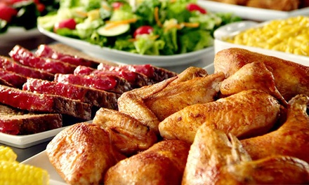 $18 for Two Groupons, Each Good for $15 Worth of Lunch or Breakfast at Golden Corral ($30 Total Value)