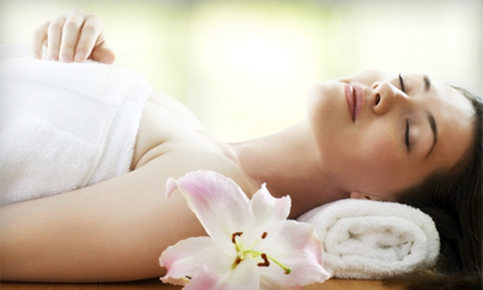The Haven Spa & Wellness Center - Pleasantville: Relaxation Massage or Express Facial with Optional Glycolic Peel at The Haven Spa & Wellness Center (Up to 59% Off)