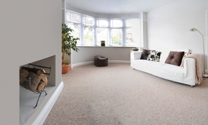 All Star Steam  Cleaning: Carpet Cleaning or Tile and Grout Cleaning from All Star Steam Cleaning (Up to 57% Off). Four Options Available.