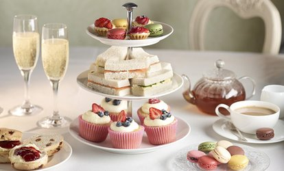 image for Afternoon Tea with Prosecco for Two or Four at Thistle Poole (Up to 38% Off)
