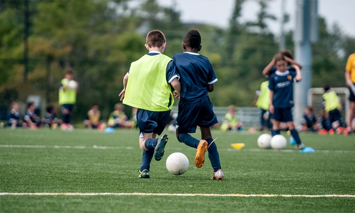Digital Media Academy - San Jose: $599 for a Boys' Five-Day Soccer-and-Technology Camp with Lunch from Digital Media Academy ($1,040 Value)
