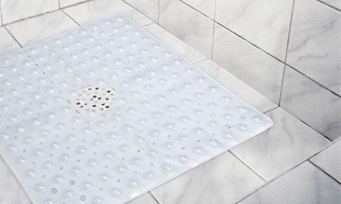 Antibacterial Shower Stall Mat | Groupon Goods