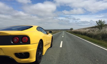 20- or 45-Minute Ferrari Driving Experience with Golden Moments Ireland HO (Up to 58% Off)