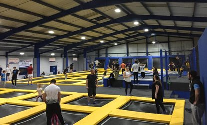image for One-Hour Bounce Session with Grip Socks and Drink at Jump 2 It Deeside (Up to 37% Off)