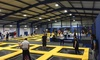 Jump 2 It Deeside - Shotwick: One-Hour Bounce Session with Grip Socks and Drink at Jump 2 It Deeside (Up to 37% Off)
