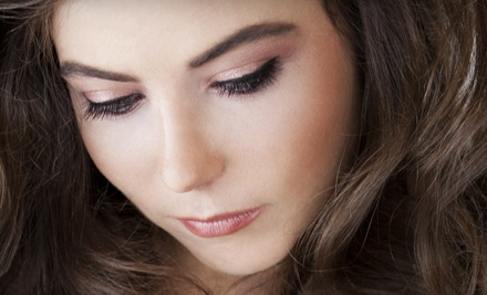 Permanent Makeup on Eyelids, Brows, or Lips at LongTimeLiner & Lash Studio (Half Off). Two Options Available.