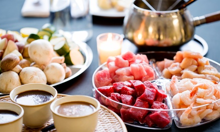 Dinner for Two or Four at Simply Fondue (Up to 40% Off). Three Options Available.