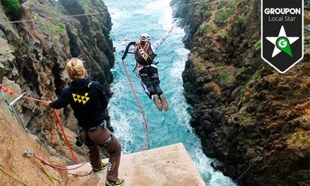 2 saltos de rope jump o puenting para 1 o 2 personas en Aventura en Canarias (hasta 87% de descuento)