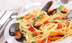 LA PIAZZETTA VICO EQUENSE: Menu freschezza del mare con vino per 2 o 4 persone da La Piazzetta (sconto fino a 57%)