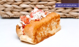 Maine-ly Sandwiches: Lobster/Crab Half-Roll Combos for Two or Four at Maine-ly Sandwiches (Up to 31% Off)