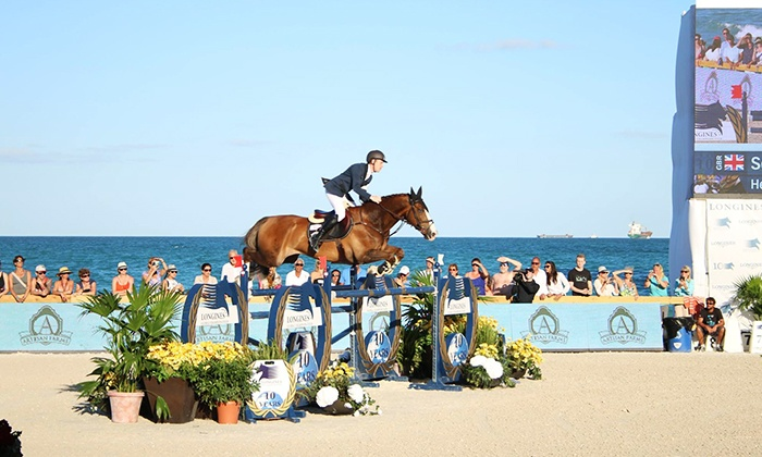 Great Lakes Equestrian Festival - Flintfields Horse Park: One Ticket to the Great Lakes Equestrian Festival at Flintfields Horse Park (Up to 47% Off). Five Dates Available.