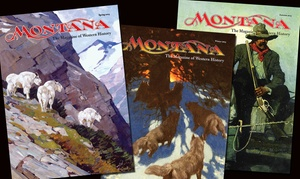 "Montana The Magazine of Western History: One-Year Subscription to ""Montana The Magazine of Western History"" (51% Off)"