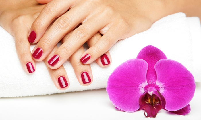 Carrie at The Lucky Waxing Company - The Lucky Waxing Company: One or Three Gel Manicures, Including Prior Gel Removal at The Lucky Waxing Company (Up to 54% Off)