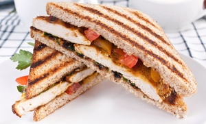 Beans: $9 for Two Deli Sandwich, Wrap, or Panini Combos at Beans ($18.56 Value)