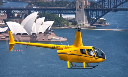 $379 for Sydney Harbour Helicopter Flight for Two or Three People with Bankstown Helicopters Up to $850 Value