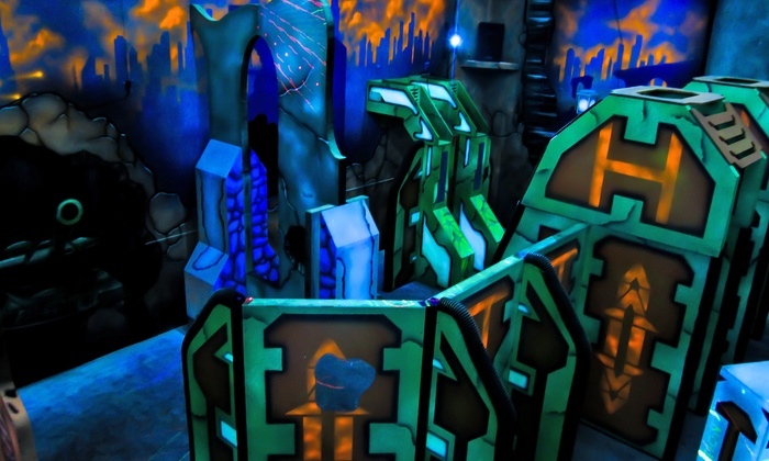 Pins N Pockets Entertainment - Lake Elsinore: Two or Four Rounds of Laser Tag with Arcade Credit at Pins N Pockets Entertainment (52% Off)