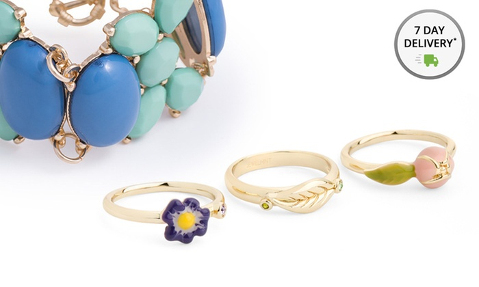JewelMint Garden Party Collection Jewelry   Groupon