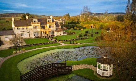 Somerset: 1 or 2 Nights for Two with Breakfast, Dinner, Prosecco and Spa Access at 4* Rookery Manor Hotel & Spa